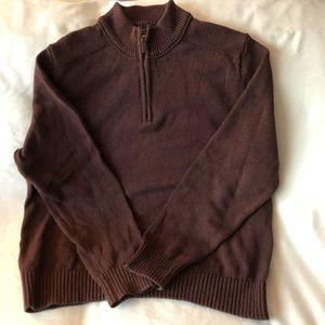 Men's Eddie Bauer Quarter Zip Sweater